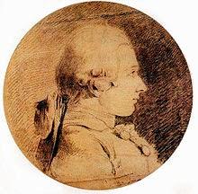 Waar komt bandnaam Libertines vandaan - Marquis_de_Sade_portrait