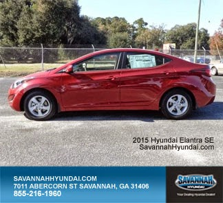 2015 Hyundai Elantra, New Car Specials, Savannah GA, Savannah Hyundai
