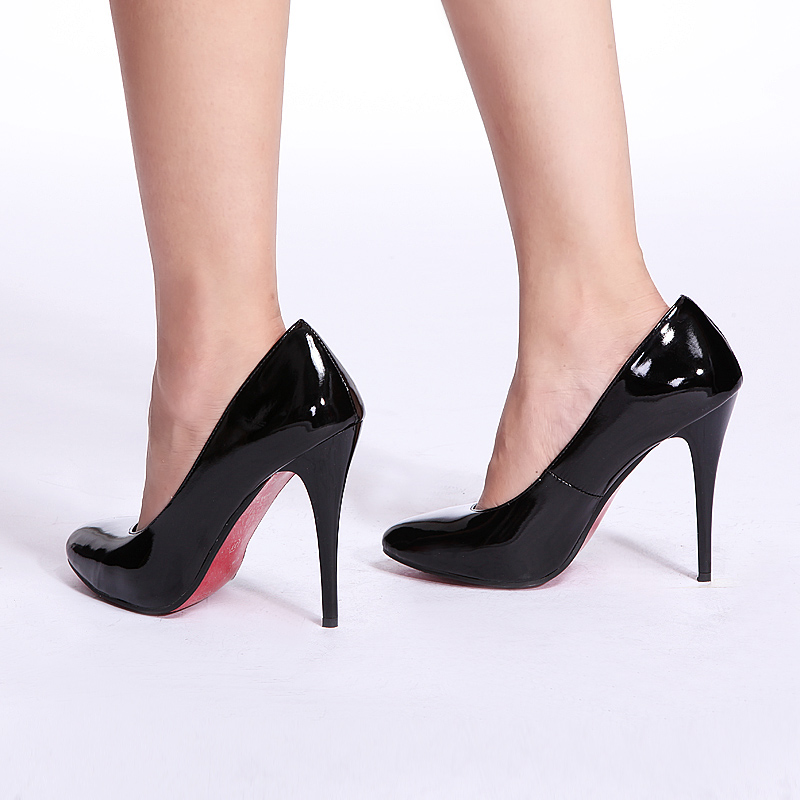 Simple Hot Black Fashion Women Pumps High Heels Shoes Pointed Toe Women Shoes