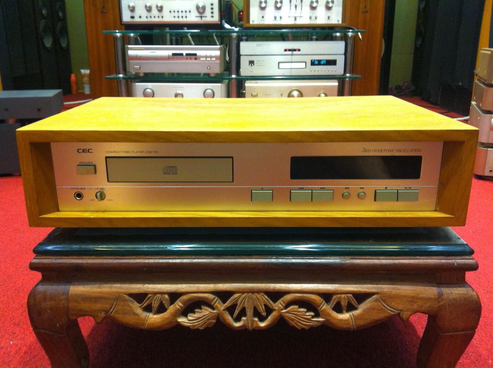 Đầu CD Nhật Bản CEC CD2100