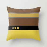 Star Trek The Next Generation - Pillow - Geordie La Forge Pillow