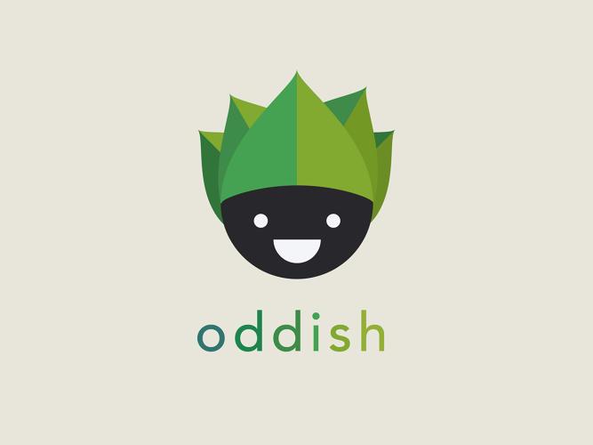 Logo basado en el personaje Pokémon Oddish
