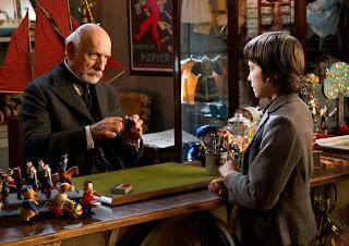Ben Kingsley and Asa Butterfield in Hugo