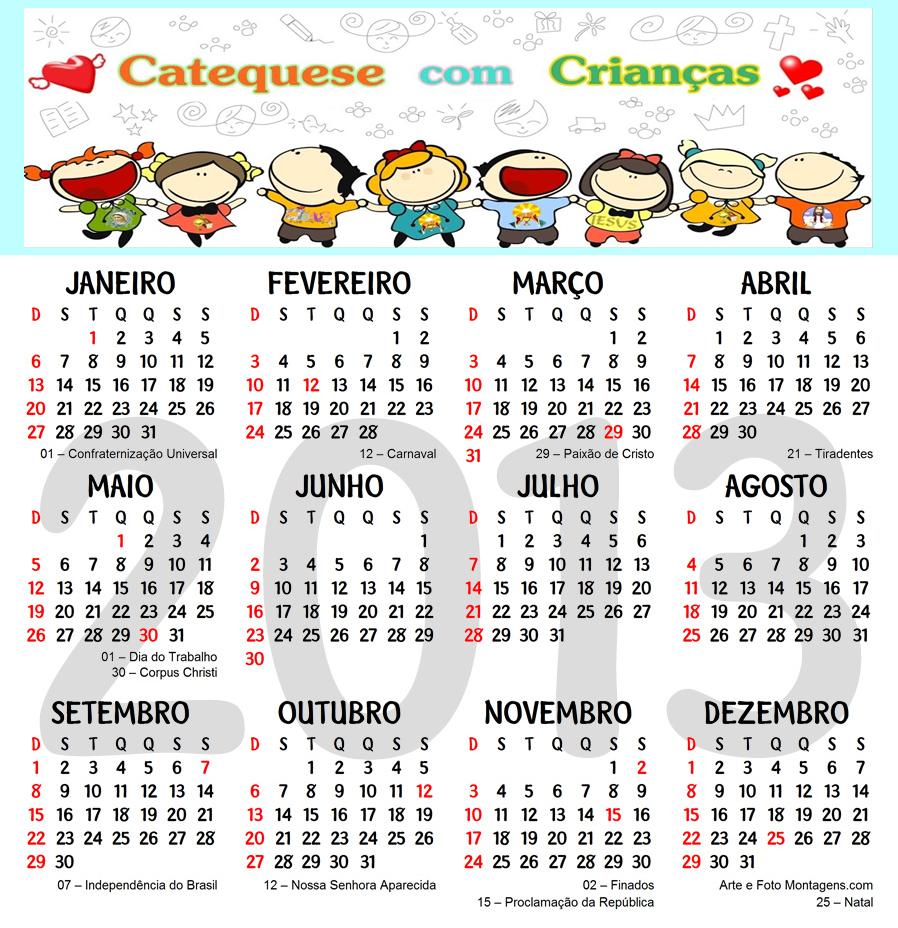 Calendario 2013 personalizado com foto 92