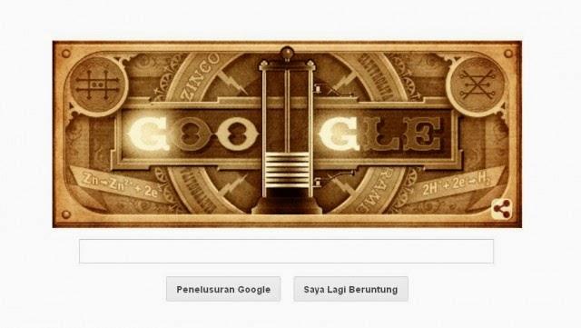 Ulang Tahun Alessandro Volta ke-270