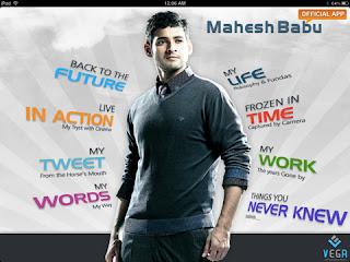Mahesh Babu Ipad Application free Download Maheshbabu+ipad