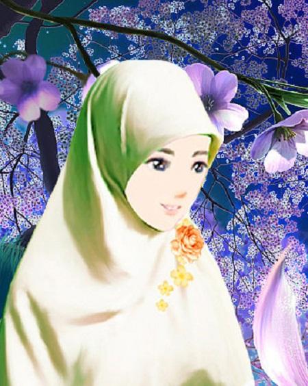 Gambar Kartun Muslimah  newhairstylesformen2014.com
