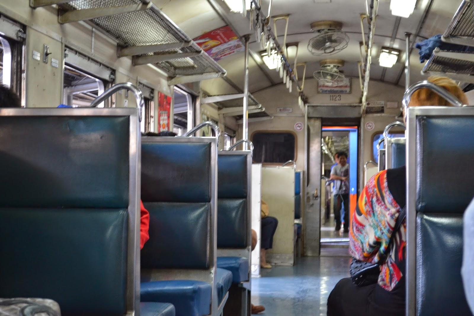 bangkok, voyage, train