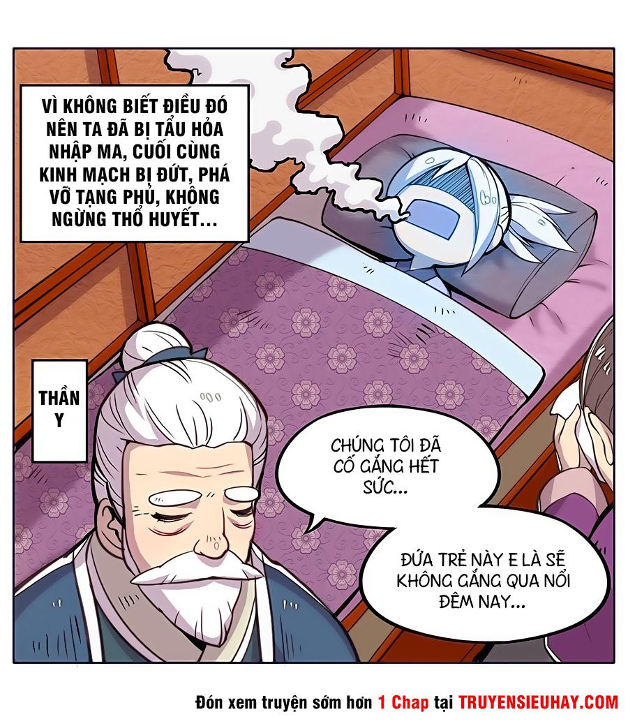 Cuộc sống thoái ẩn của võ lâm chi vương chap 0 - Trang 8