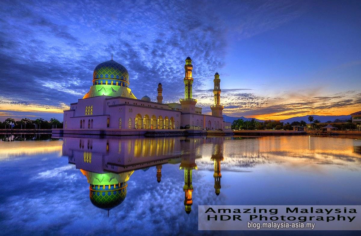 Bandaraya Mosque Kota Kinabalu Sabah Photo