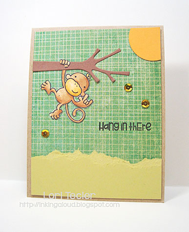 Hang in There card-designed by Lori Tecler/Inking Aloud-stamps and dies from Paper Smooches