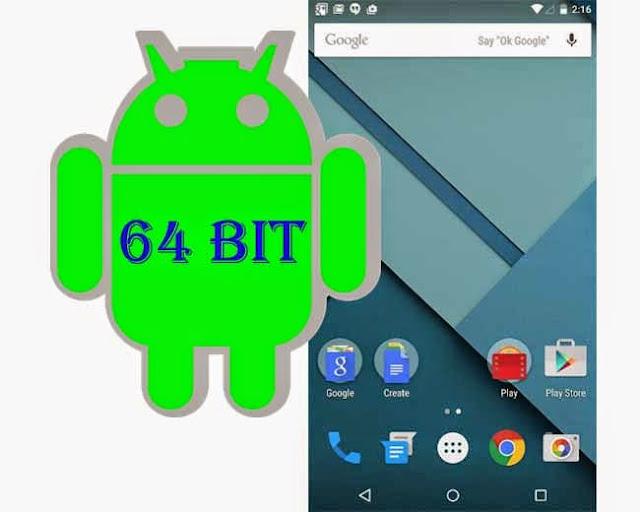 Masa Depan Prosesor dan Aplikasi Smartphone Android: 64 Bit