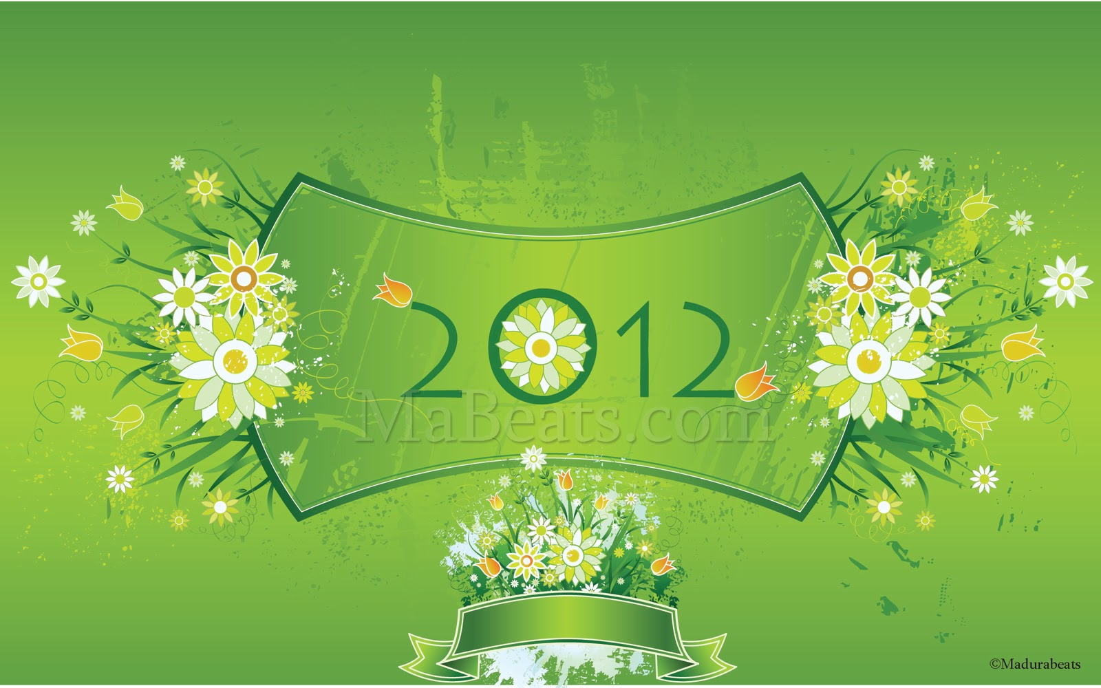 2012 - Happy new year -MaBeats