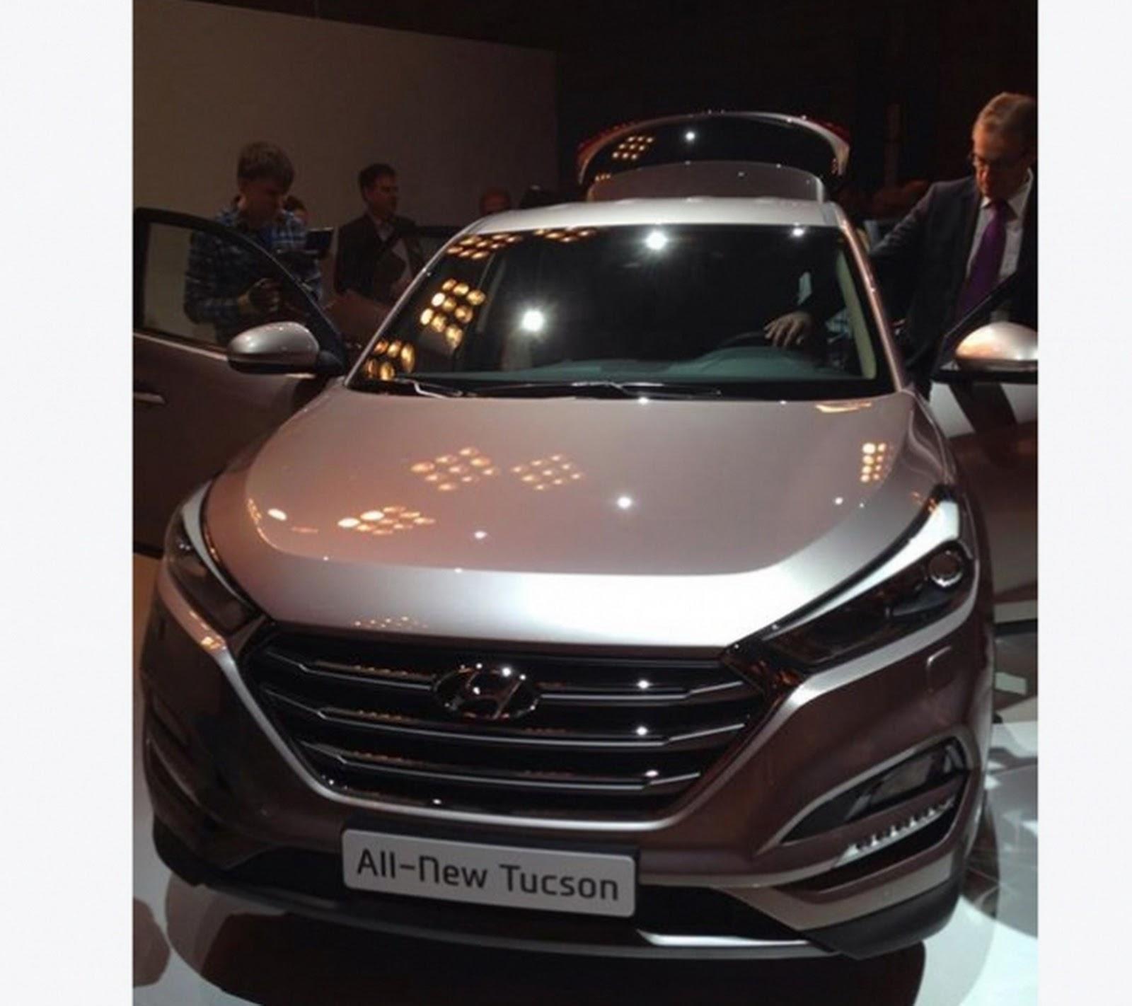 Tuson Hyundai: First Photos Of All-New 2016 Hyundai Tucson
