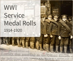 WW1 Campaign medal rolls