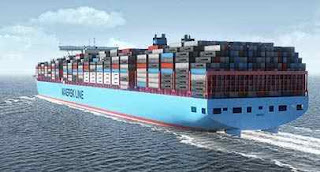 Largest container ship of the world
