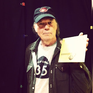 música, Third Man Record Booth, Neil Young