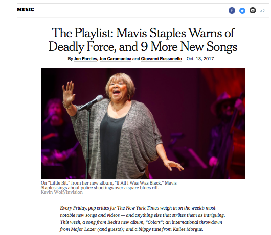 "Magic Circle featured in New York Times ""The Playlist"""