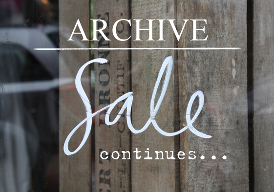 Cabbages & Roses Archive Sale Continues