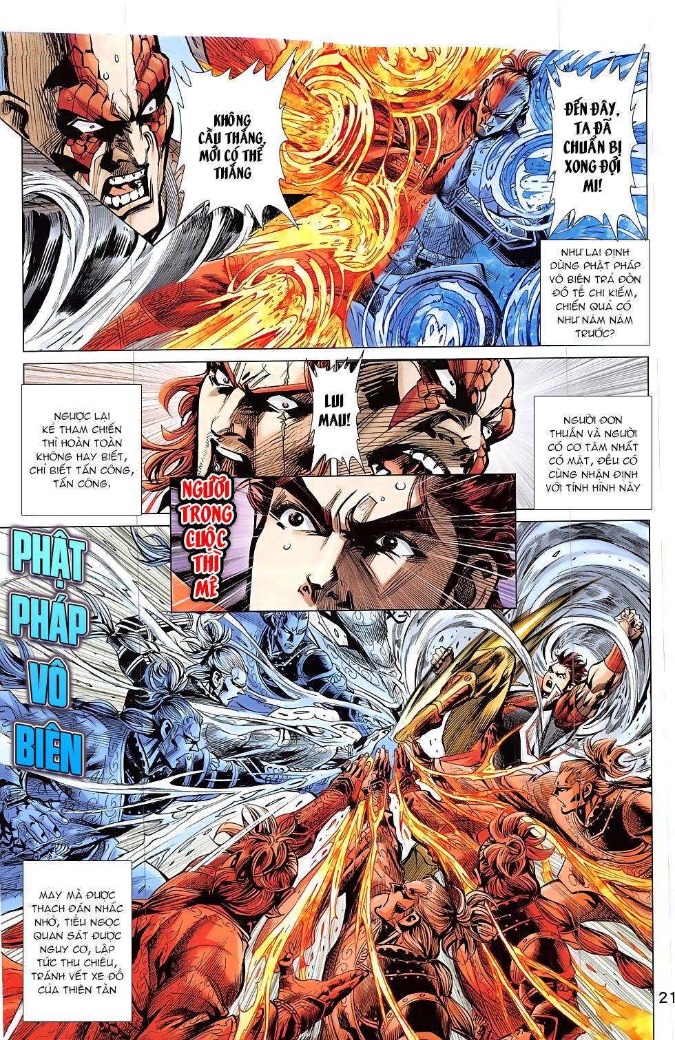 Thần Chưởng trang 21