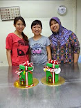Christmas Gift Box Cake Class
