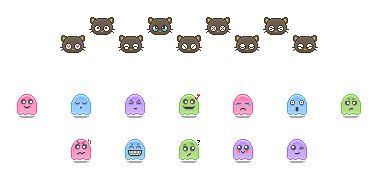 [ Emoticones ] ( Parte 9 ) Mini Kawaii