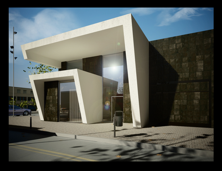 Local comercial nave industrial proyecto by grupo mera - Diseno nave industrial ...