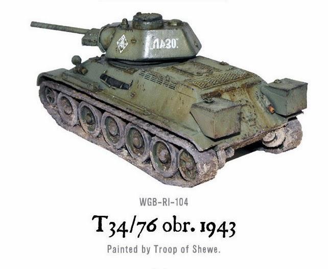 SOVIET T34/76 MEDIUM TANK