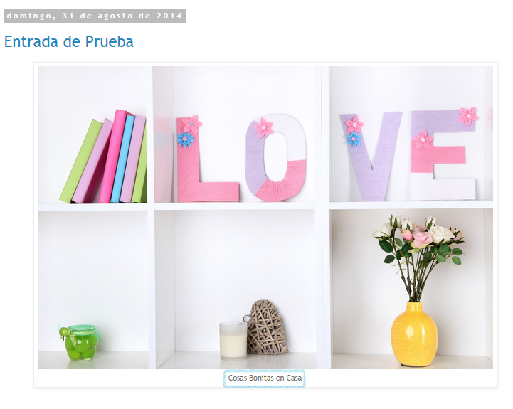Cambiar el tipo de letra del pie de las fotos en Blogger