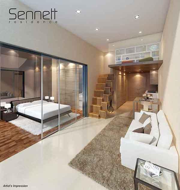 Sennett Residence Living Room