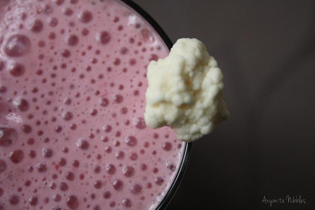Cherry and Cauliflower Smoothie