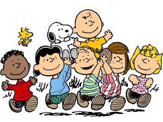 Charlie Brown Linus Snoopy Woodstock Marcie Lucy Rerun Sally