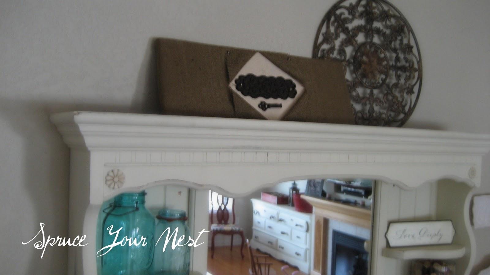 Wall Decor Ross : Spruce your nest burlap art