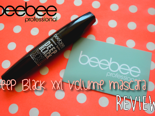 BEEBEE DEEP BLACK XXL VOLUME MASCARA ♥ REVIEW ♥