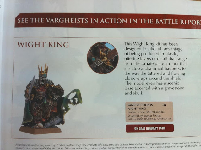 Warhammer Wight King miniature picture photo