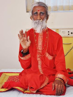 Prahlad Jani, an 82-year-old yogi who claimed he hadn't eaten or drunk anything for 70 years