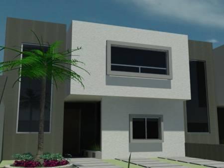 Fachadas minimalistas fachada minimalista de l neas simples for Frentes de casas minimalistas