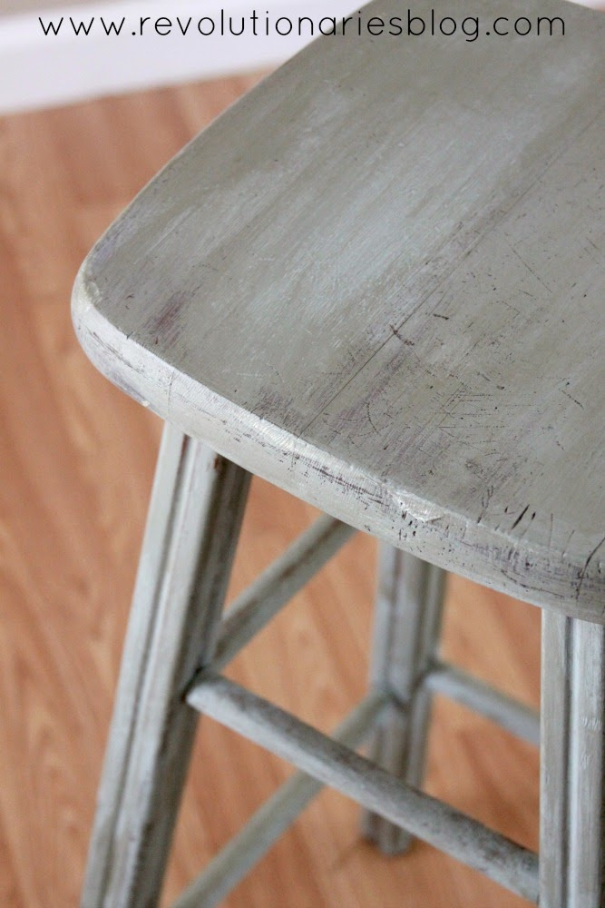 Before and After: The Painted Stools!
