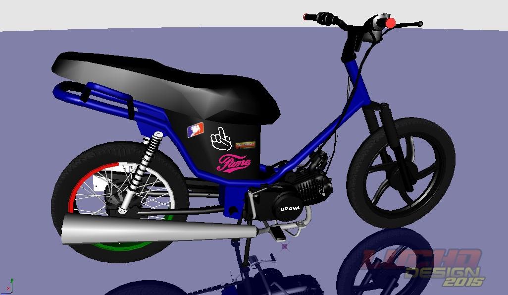 Motos 110 Stunt >> GtaEstiloAlPiso: Brava 110 desarmada By Lucho Godoy