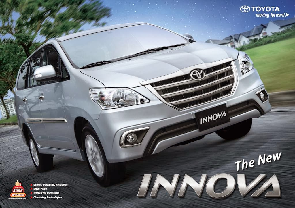 UPDATED: 2014 Toyota Innova Gets New Look, Improved In-Car Entertainment System (w/ Complete
