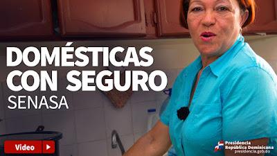 Domésticas con seguro Senasa