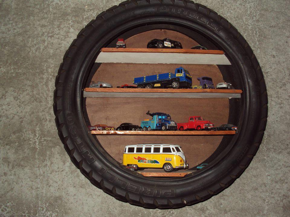 Ideas geniales para reutilizar neumáticos de autos ...