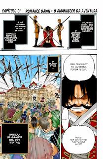 One Piece 01 Mangá Colorido leitura online agaleradosanimes.net