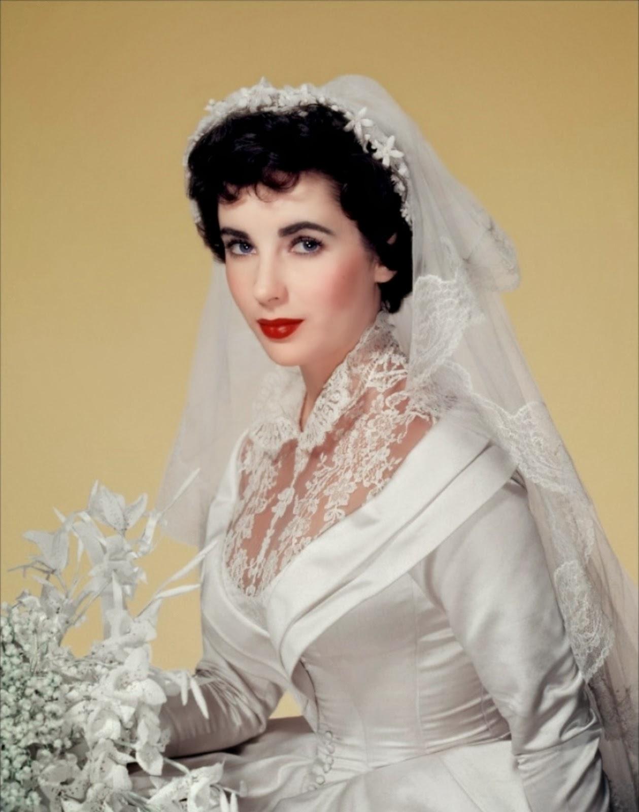 Elizabeth taylor always a bride never a bridesmaid for Elizabeth taylor s wedding dresses