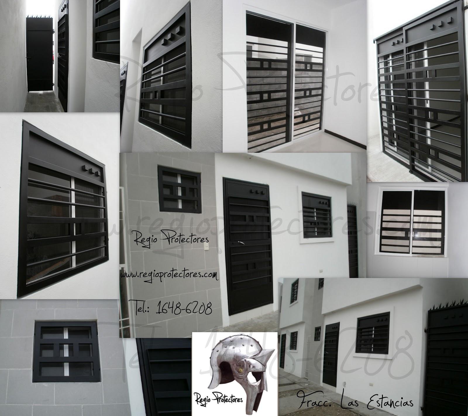 Regio protectores protectores para ventanas y puertas - Proteccion para casas ...