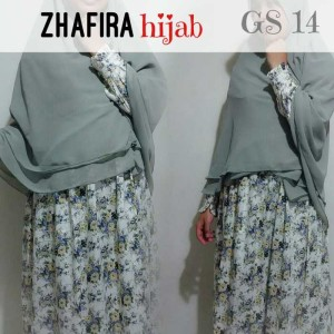 Zhafira - excellent muslimah dress