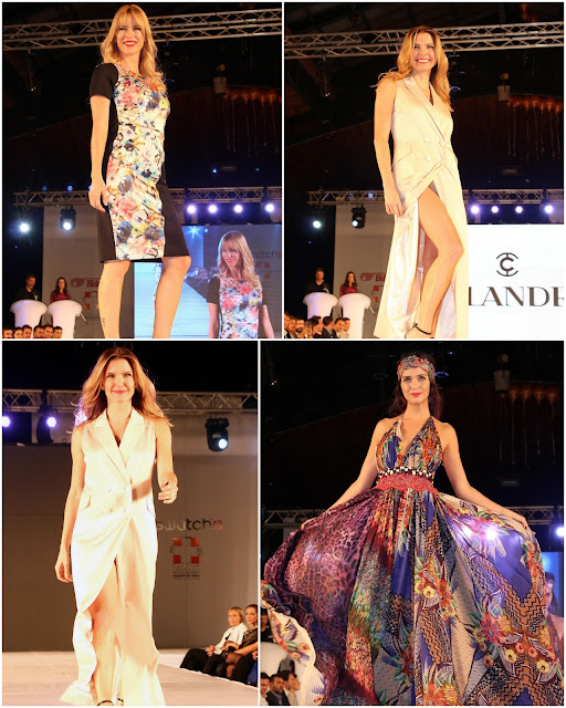 Benito Fernandez y Teresa Calandra participaron del Moda Look