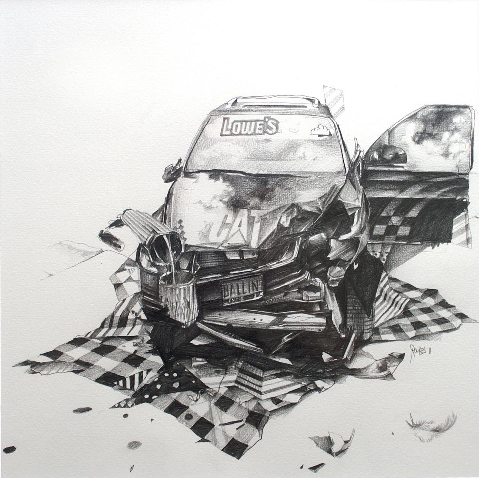 Joram Roukes: drawings