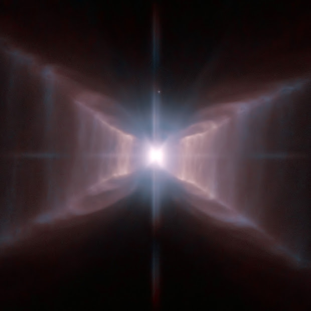 Hubble shoots HD 44179, the unique Red Rectangle Nebula