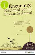 I Encuentro por la liberación animal